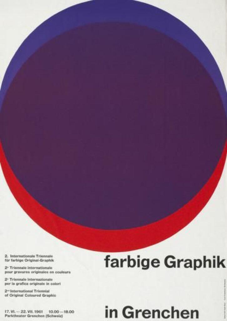 Poster 2. Triennale Grenchen